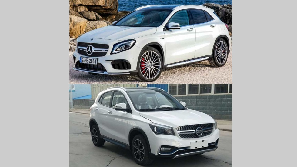 K One: otra copia china... ahora, del Mercedes GLA