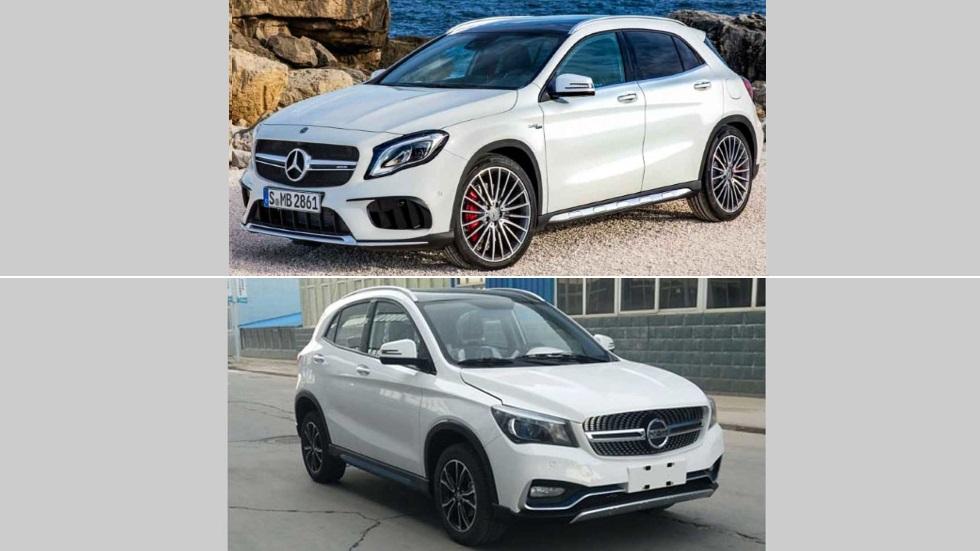 K One: otra copia china... ahora, del Mercedes GLA