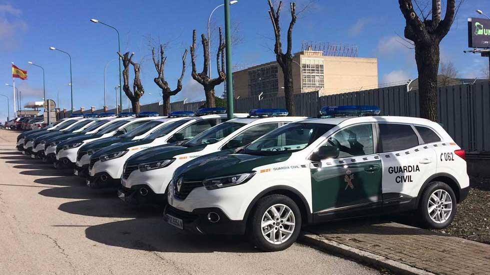 Así son los nuevos coches de la Guardia Civil