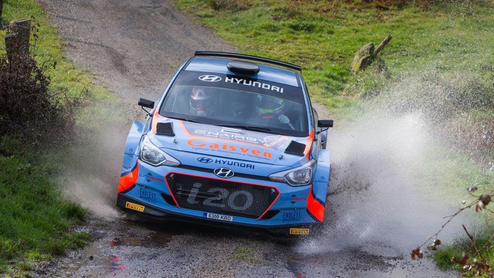 Nacional de Rallyes de Asfalto: Iván Ares y Hyundai empiezan ganando