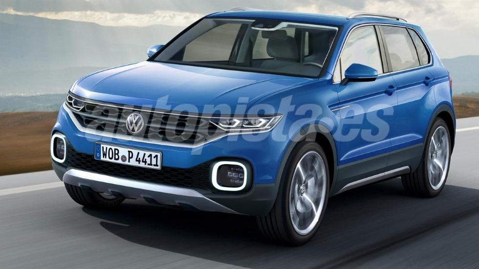 Volkswagen lanzará en 2018 un nuevo SUV global entre el T-Roc y el Tiguan