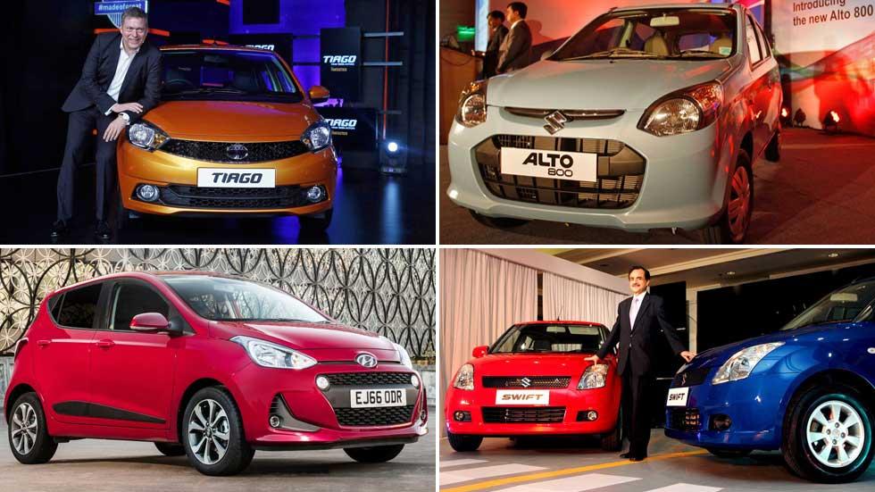 Los coches más vendidos en… India