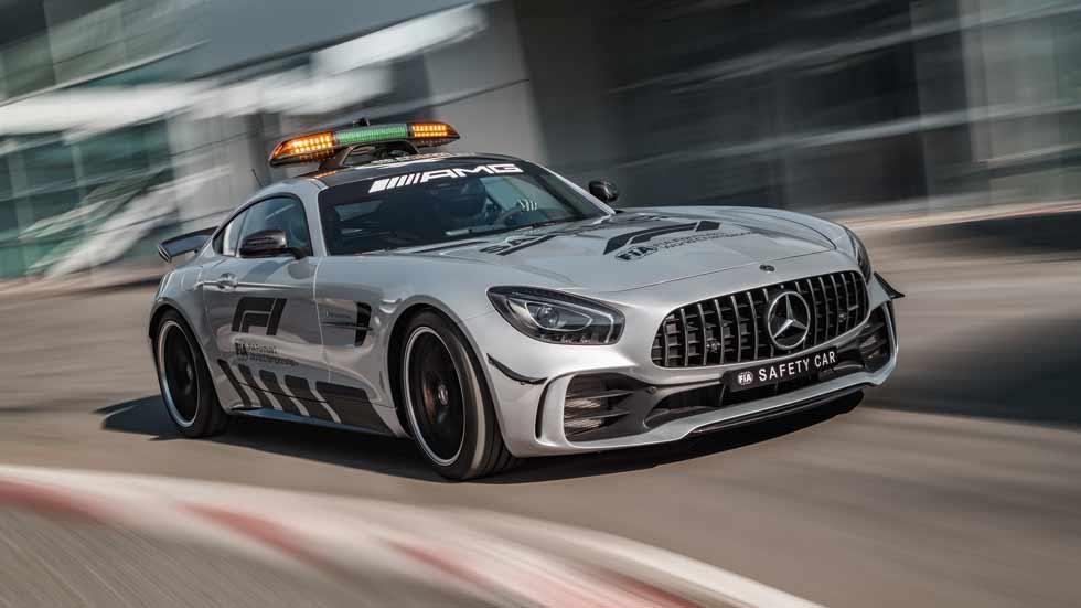 El Mercedes-AMG GT R, el nuevo Safety Car de la Fórmula 1 en 2018