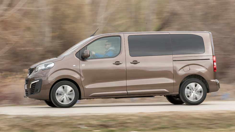 Peugeot Traveller 2018: ahora, con tracción 4x4