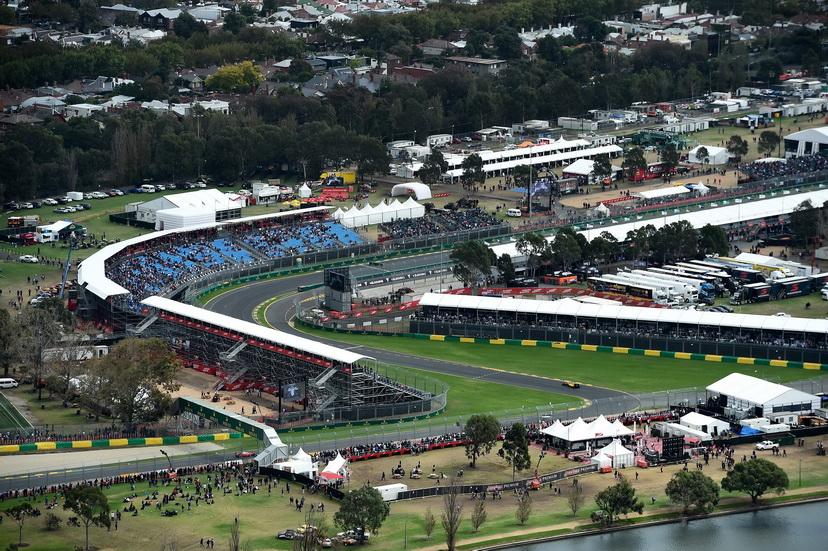 GP de Australia de F1: en Albert Park habrá 3 zonas de DRS