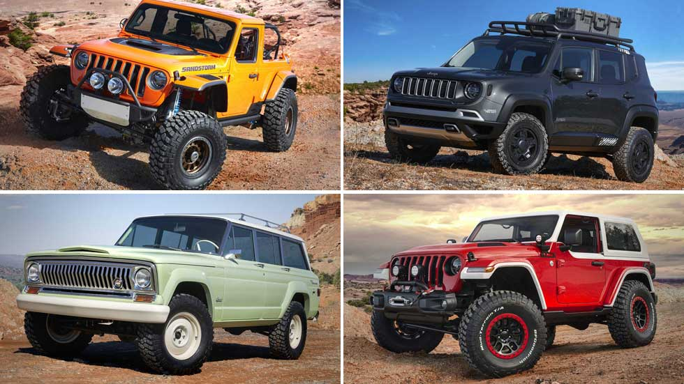 Los Jeep más espectaculares del Easter Safari 2018