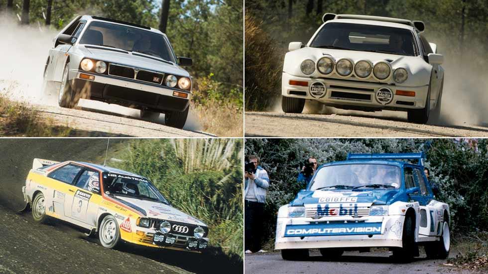 Los mejores Grupo B (parte 2): Audi quattro Sport, Lancia Delta S4, Ford RS200 y MG Metro 6R4
