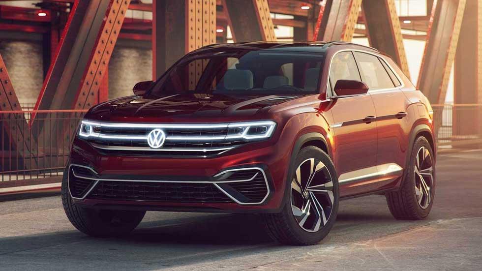 VW Atlas Cross Sport Concept, imagen definitiva y todos sus datos