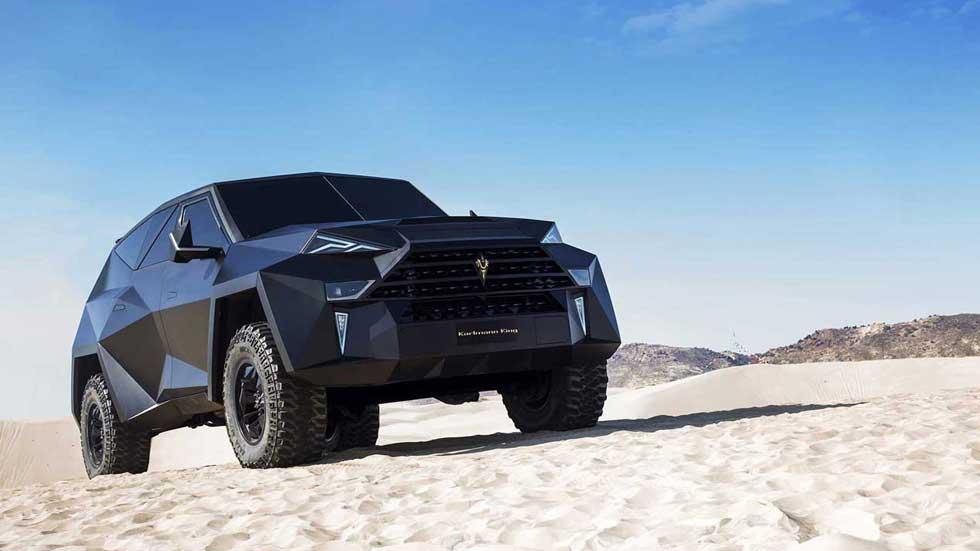 Karlmann King: así es el brutal SUV más caro del mundo