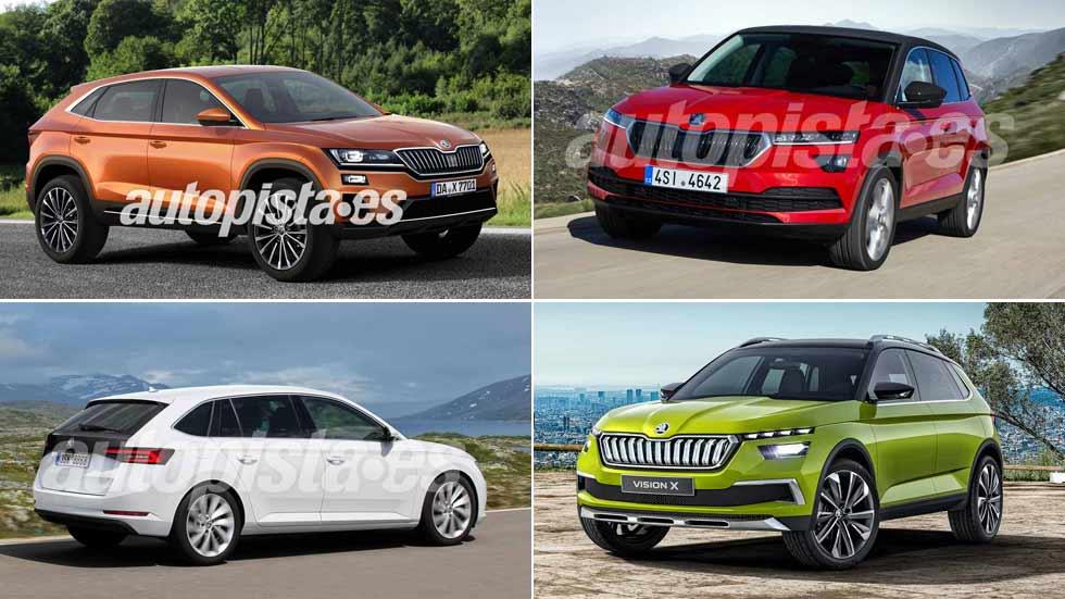 Skoda lanzará 19 nuevos coches y SUV hasta 2020: Vision X, Superb híbrido, Spaceback…