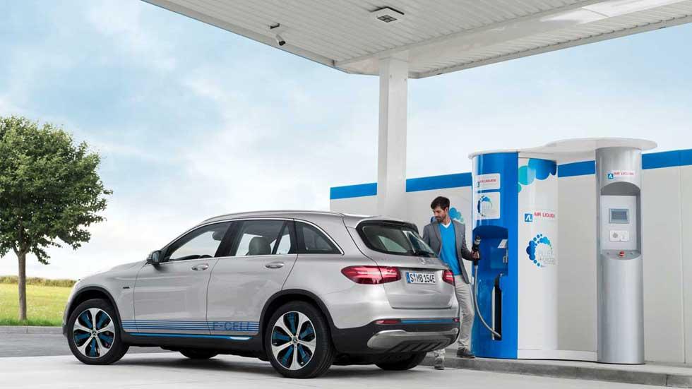 Mercedes GLC F-CELL: el nuevo SUV de hidrógeno, camino a la producción