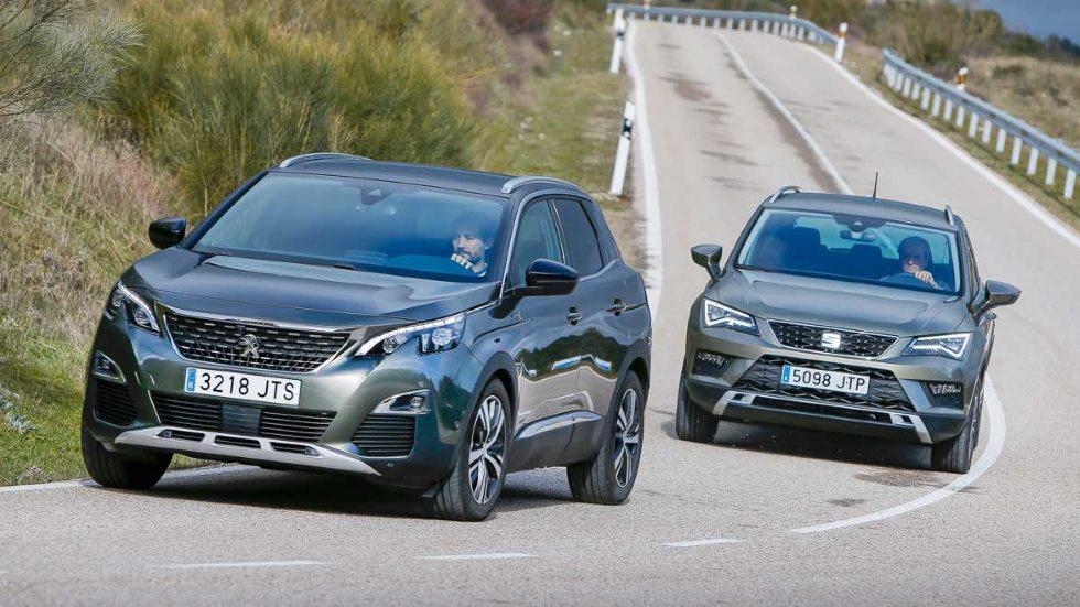 Peugeot 3008 vs Seat Ateca: ¿qué SUV Diesel es mejor? (VÍDEO)