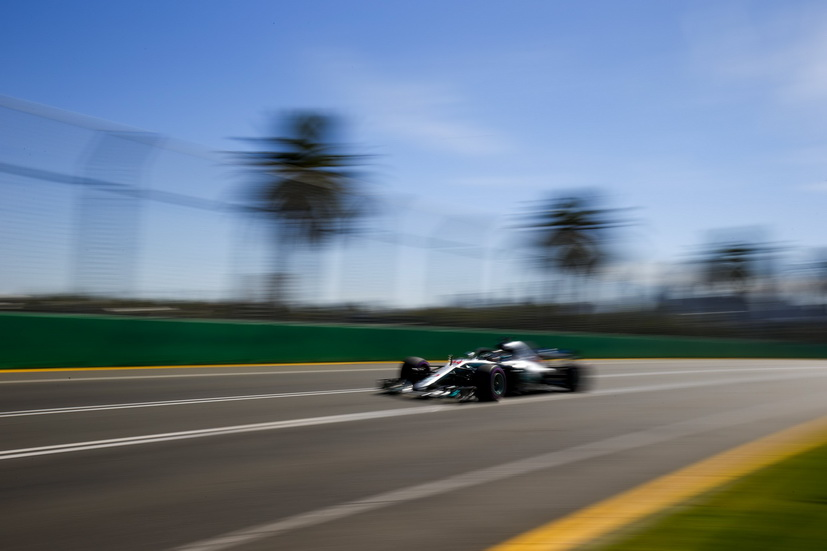 GP de Australia de F1 (FP1): Lewis Hamilton comienza liderando los tiempos