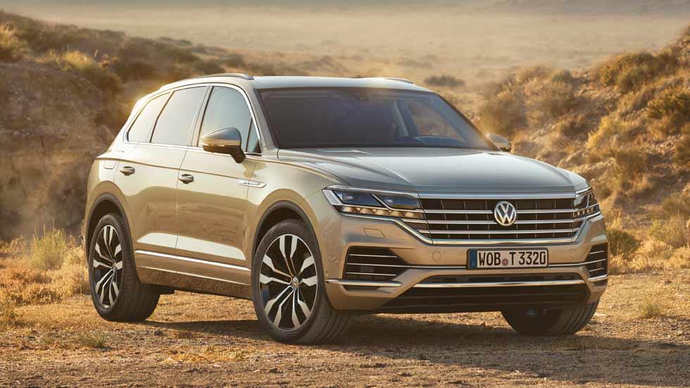 VW Touareg 2018: fotos y datos definitivos del nuevo SUV