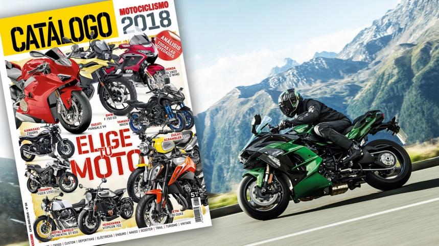 Llega Motocatálogo 2018: 400 modelos en una revista especial