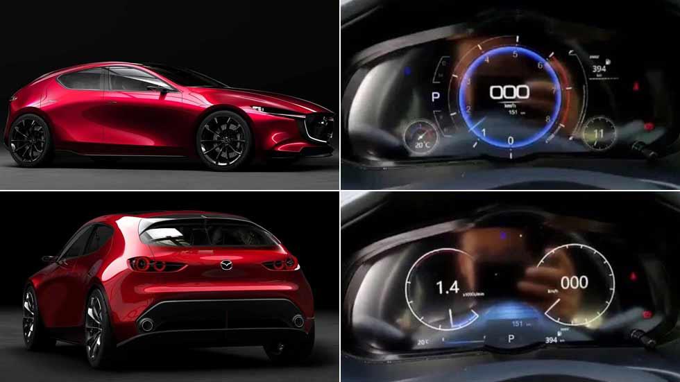 Mazda3 2019: filtradas las primeras imágenes del interior