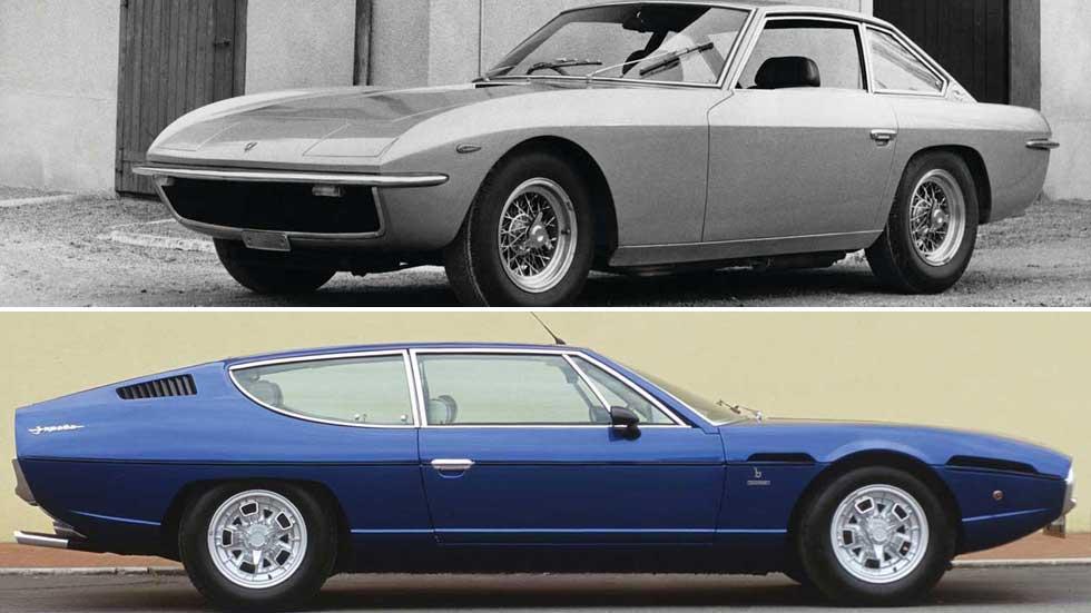 Los Lamborghini Espada e Islero cumplen 50 años: fotos y curiosidades