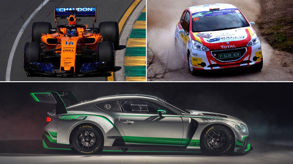 Automovilismo para este fin de semana con españoles: F1, rallyes y SprintX