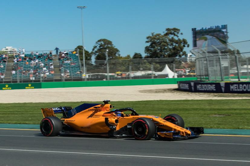 """GP de Australia de F1 (calificación): Alonso undécimo y contento, """"va a ser un buen año"""""""