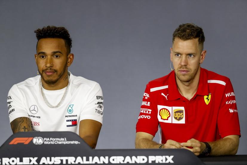 GP de Australia de F1 (calificación): Hamilton y Vettel se enfrentan