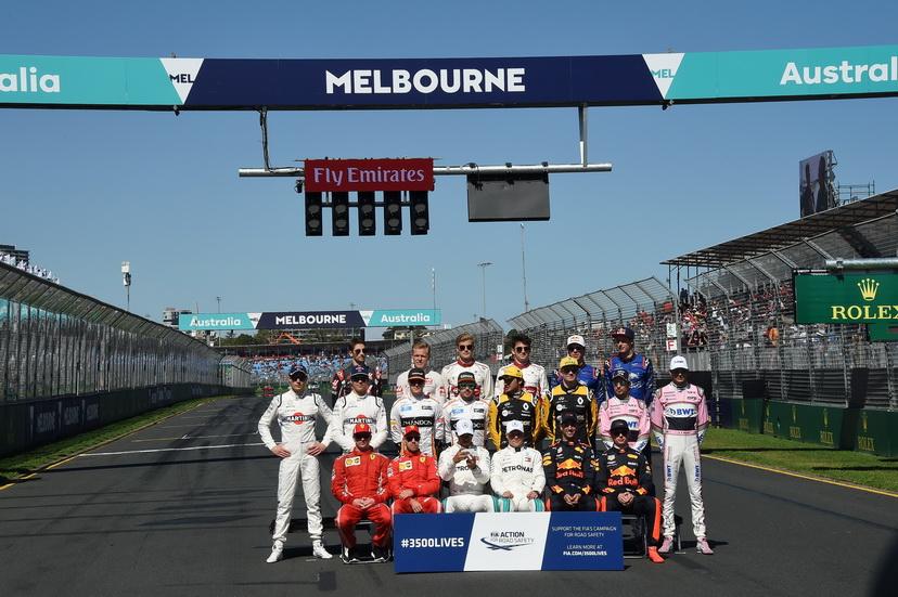 GP de Australia de F1: parrilla de salida