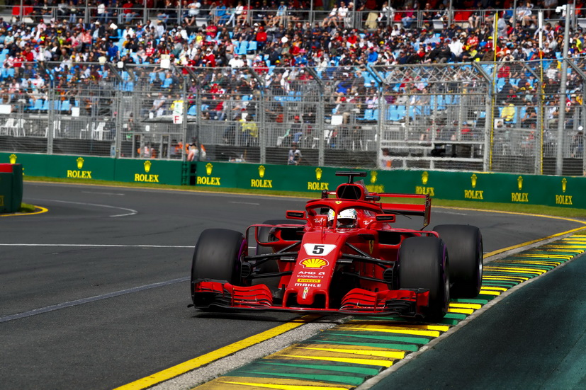 GP de Australia de F1 (carrera): Vettel gana, Alonso 5º y Sainz 10º