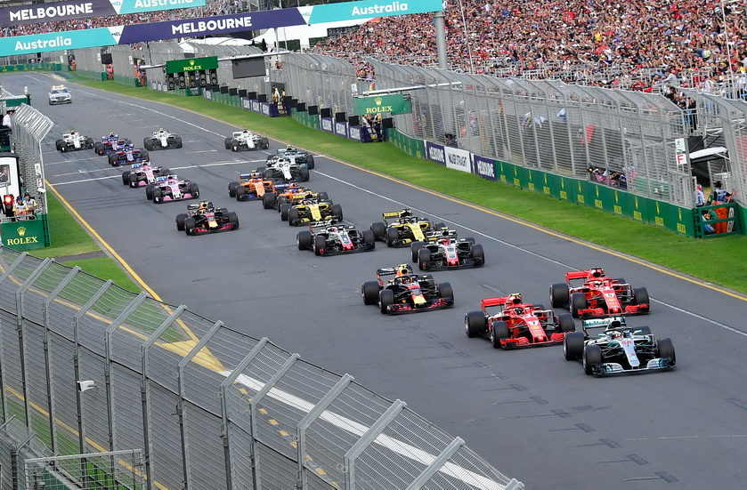 GP de Australia de F1 (carrera): clasificaciones
