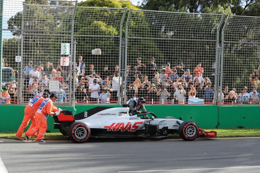GP de Australia de F1 (carrera): Haas pierde a sus dos pilotos