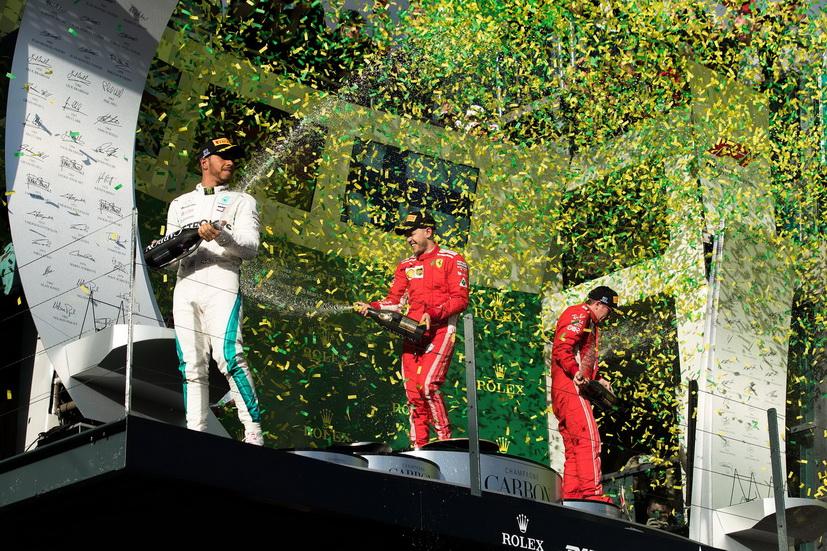 GP de Australia de F1 (carrera): Mercedes perdió, Ferrari ganó