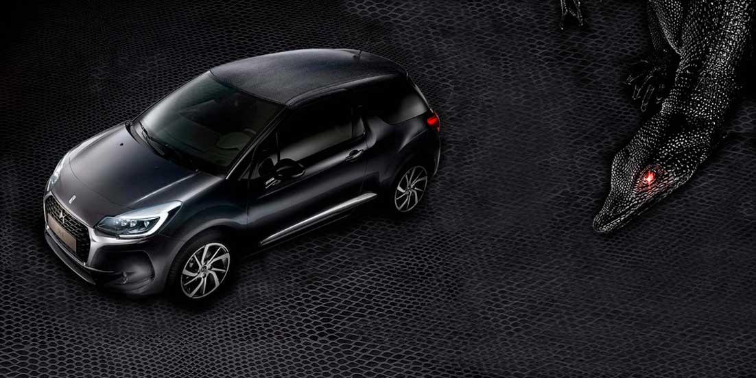 """DS 3 Black Lézard: así es el coche con """"piel"""" de lagarto"""