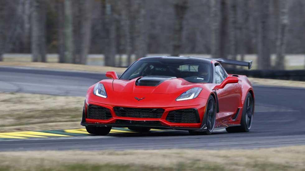 Corvette ZR1 2019: de 0 a 100 km/h en menos de 3 segundos
