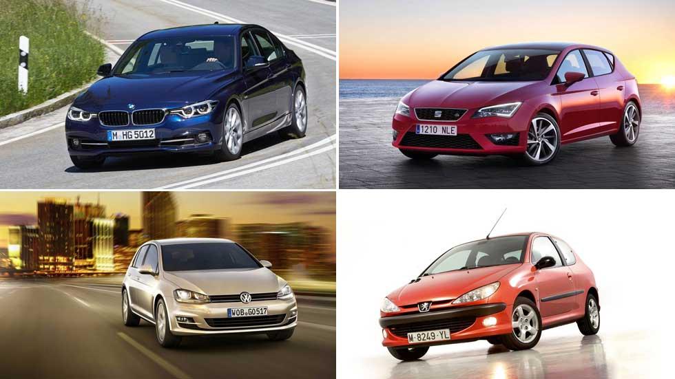 Los modelos de coches más robados del momento en España