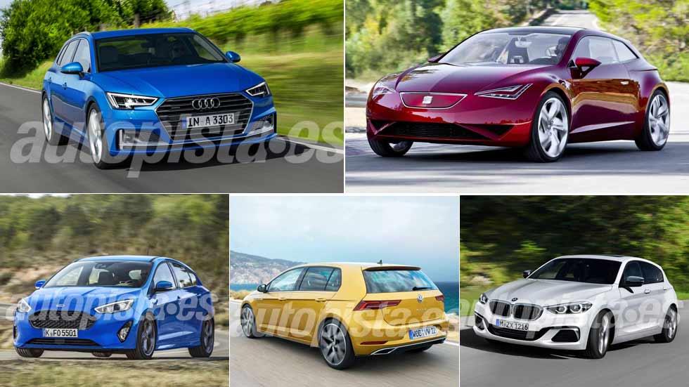 Todos los compactos que vienen: Focus, Ceed, Golf, Mazda3, León, A3…