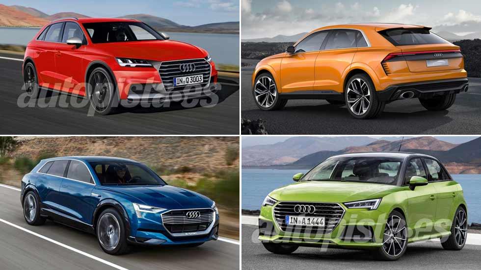 Todas las novedades de Audi en 2018: Q3, Q8, A1…