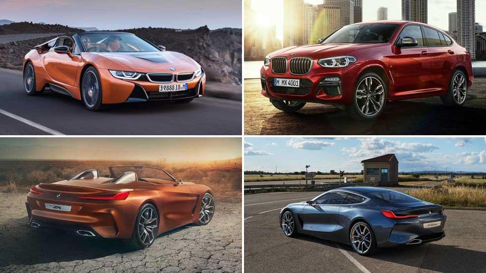 Todos los coches y SUV nuevos de BMW en 2018: X4, Z4, X7…