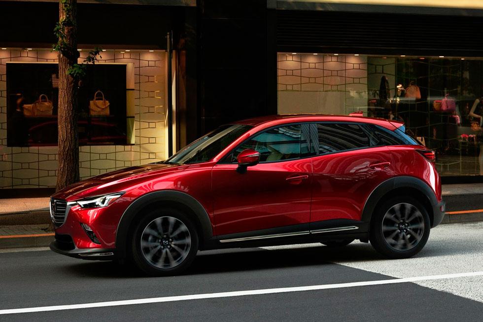 El SUV Mazda CX-3 2018, con novedades mecánicas y de equipamiento