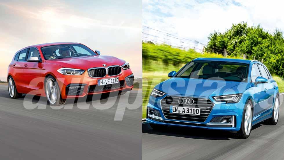 Revista Autopista 3048: así serán los nuevos Audi A3 2018 y BMW Serie 1 2019