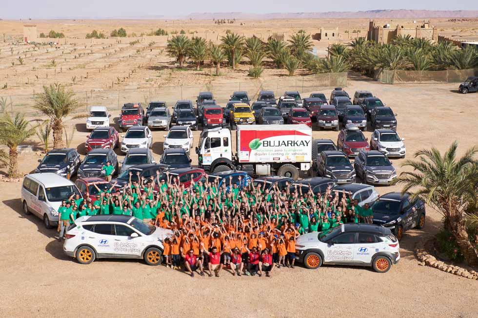 El Desierto de los Niños 2018 colabora con una nueva escuela en Fezzou