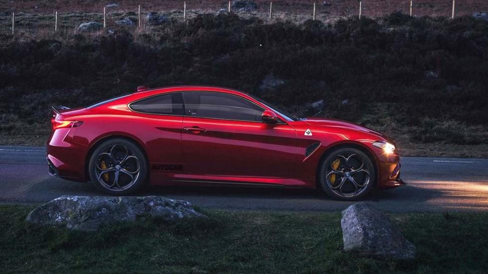 Alfa Romeo Giulia Coupé: para 2019 y con tecnología Kers