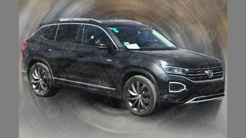 Volkswagen Tayron: el nuevo SUV basado en el Tiguan