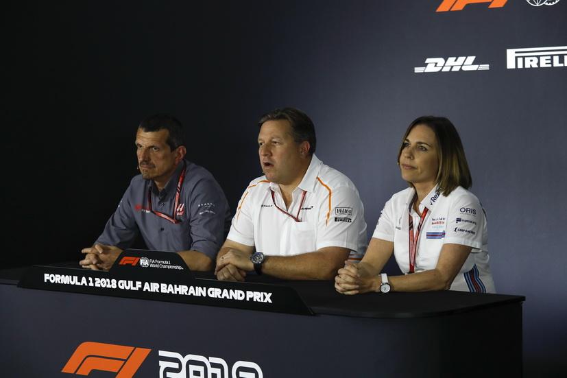 GP de Baréin de F1: los equipos contentos con lo propuesto por Liberty