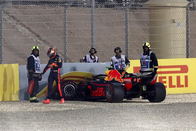 GP de Baréin de F1 (Q): Max Verstappen explica su accidente