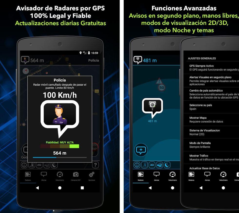 Radarbot: la nueva app que avisa de radares y evita multas