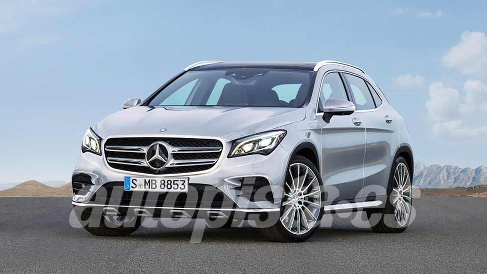 Mercedes GLA 2019: primeros datos, fotos y vídeo del nuevo SUV