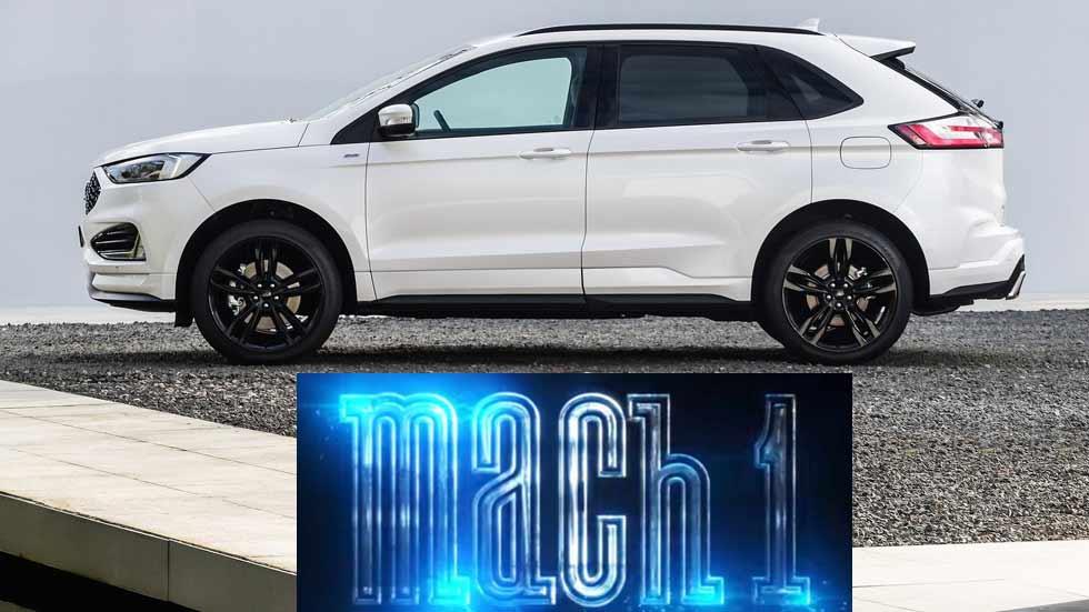 Ford Mach 1: el primer SUV eléctrico de Ford que llegará en 2020 (Vídeo)