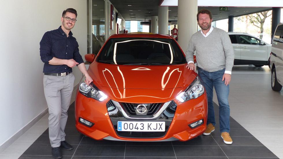 El ganador del Concurso de Diseño de AUTOPISTA, Nissan y la UPV ya tiene su Micra