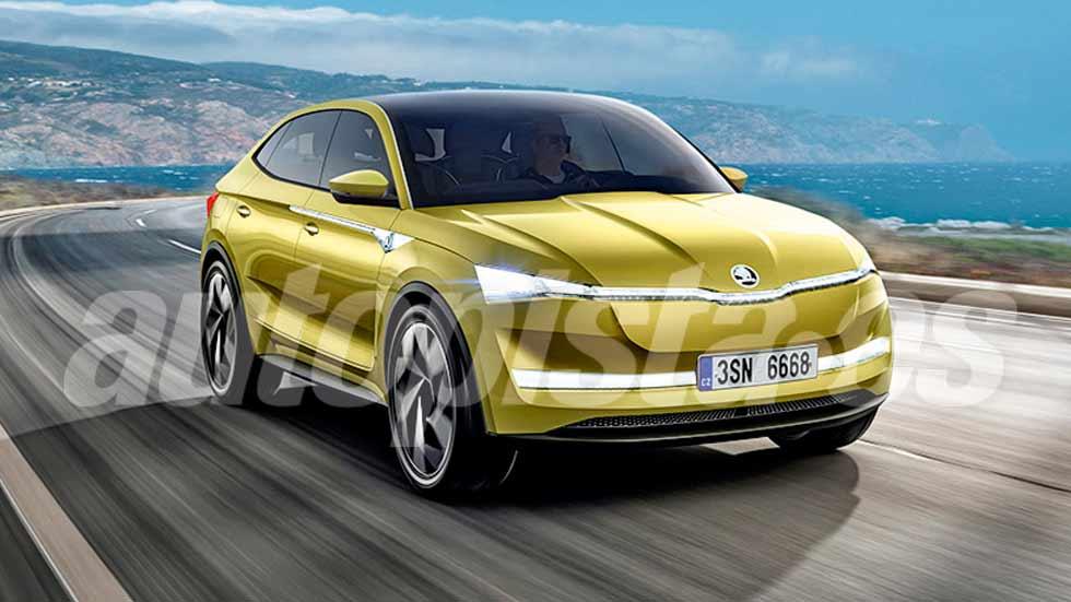 Nuevo Skoda SUV coupé: será eléctrico y llegará en 2020