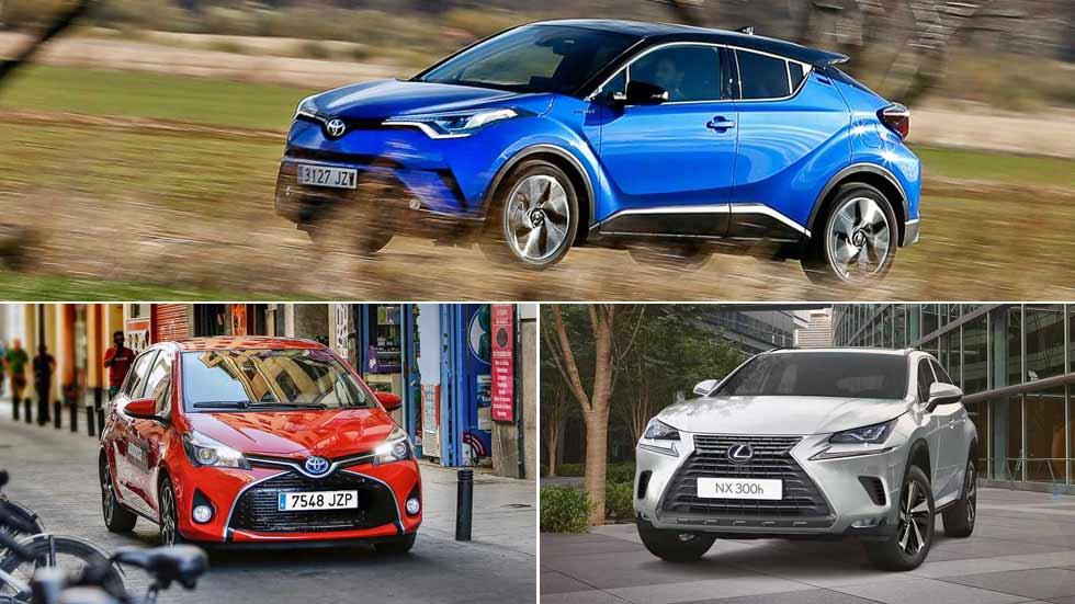 Casi la mitad de los coches vendidos por Toyota en Europa son híbridos