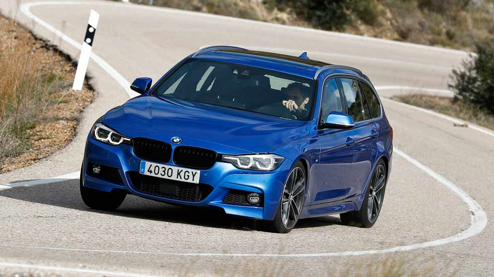 BMW 340i xDrive Touring 326 CV: opiniones y consumo real
