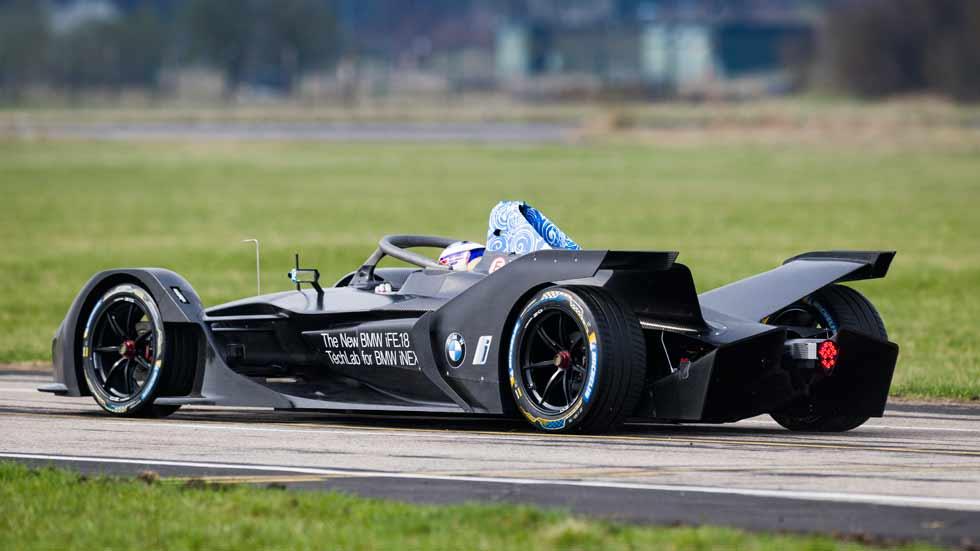 BMW iFE.18: el primer coche de competición 100% eléctrico de BMW